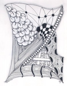 14 Mar 2010 Zentangle